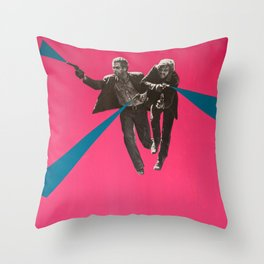 Butch + Kid Throw Pillow