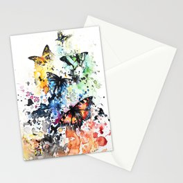 """""""Scattered"""" Stationery Cards"""
