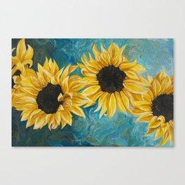 Small Sunnies Canvas Print