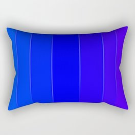 Variety Blue Rectangular Pillow