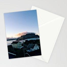 Kitchen window view Stationery Cards