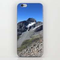 archan nair iPhone & iPod Skins featuring Piz Nair View by Helle Gade