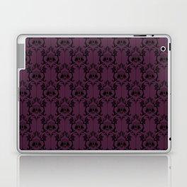 Halloween Damask Violet (Old Version) Laptop & iPad Skin
