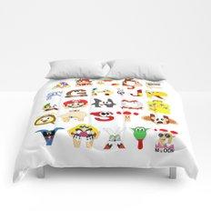 Super Mario Alphabet Comforters