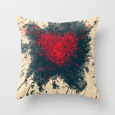 Unavoidable love Throw Pillow