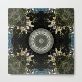 Downward: Manarola Metal Print