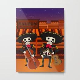 Mexico Mariachi Metal Print