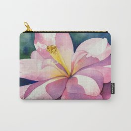 Camellia - Pretty in Pink Carry-All Pouch