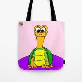 Wide-eyed Turtle Tote Bag