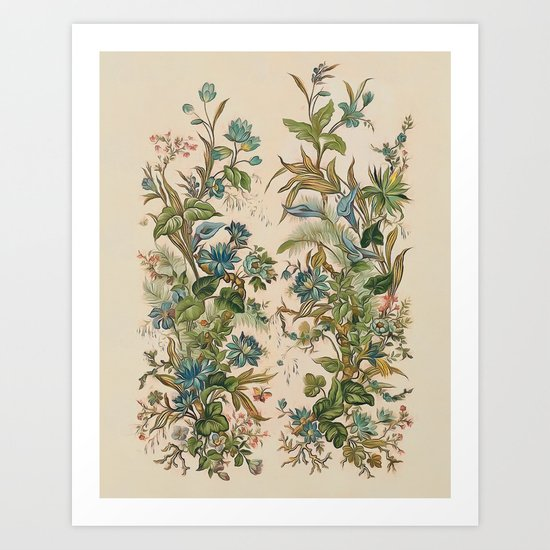 Summer flowers II Art Print