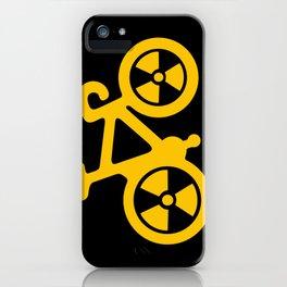 Radioactive Bicycle iPhone Case