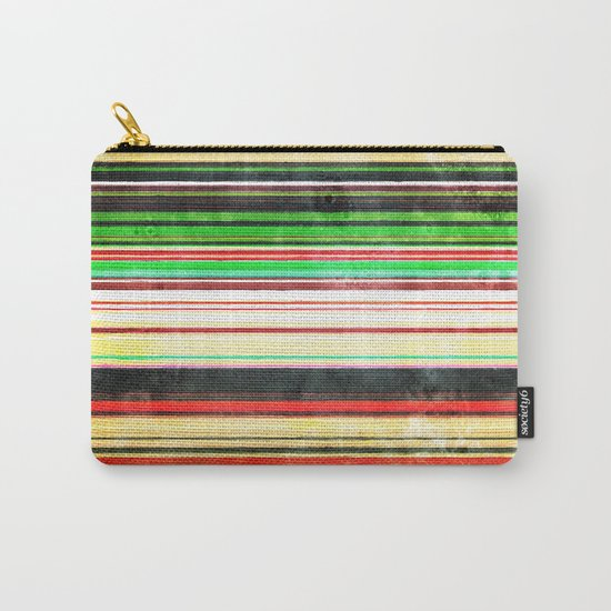 Vintage Stripes Carry-All Pouch