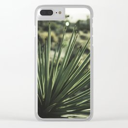 Pointed Love - Joshua Tree Clear iPhone Case