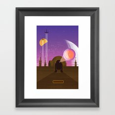 May the Fourth be with You Framed Art Print