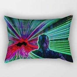 DJ On The Decks Rectangular Pillow
