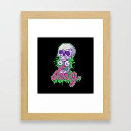 Awkward Framed Art Print