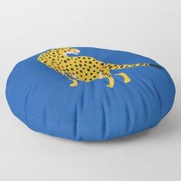 The Stare 2: Golden Cheetah Edition Floor Pillow