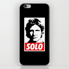 Obey Han Solo (solo text version) - Star Wars iPhone & iPod Skin