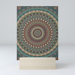 Mandala 579 Mini Art Print