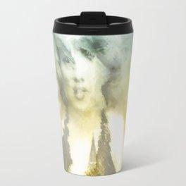 Marylin digital Art Travel Mug