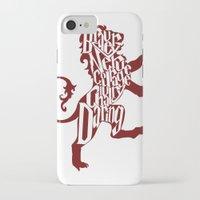 gryffindor iPhone & iPod Cases featuring Gryffindor Pride by Gabriela Michelle