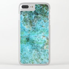 Moment of Epiphany: Aqua-Blue Version Clear iPhone Case
