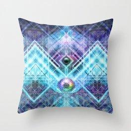 GenesisAlgorithm Throw Pillow