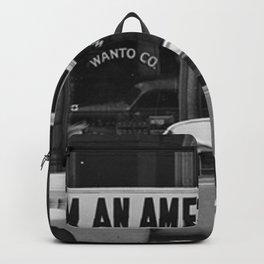 I Am An American Photo Dorothea Lange Backpack