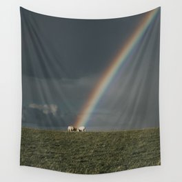 Rainbow II  - Landscape and Nature Photography Wall Tapestry