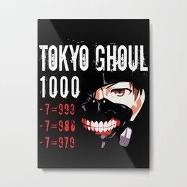 Tokyo Ghoul Metal Print
