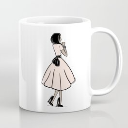 Bouclée Fashion Illustration Coffee Mug
