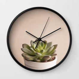 Little plant Wall Clock