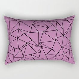 Ab Outline Bodacious Rectangular Pillow