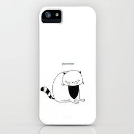 Purrrrrrrrrrr iPhone Case