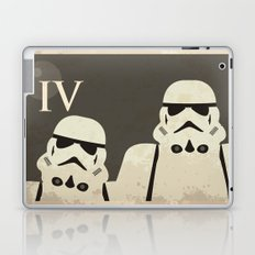 Star Wars Minimal Movie Poster Laptop & iPad Skin