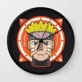 Mecha Naruto Wall Clock