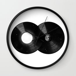 Sounds of the Galaxy Wall Clock