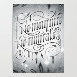 NO MOURNERS NO FUNERALS Poster