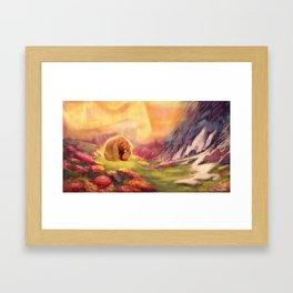 I Love You, Koda Framed Art Print