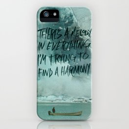 HARDER HARMONIES iPhone Case