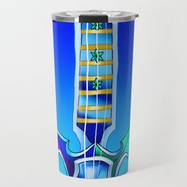 Fusion Keyblade Guitar #101 - Demyx's Sitar & Diamond Dust Travel Mug