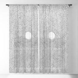 Turbulence 7 Sheer Curtain
