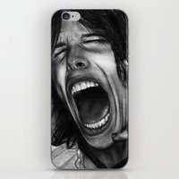 tyler spangler iPhone & iPod Skins featuring Steve Tyler by ''Befne''