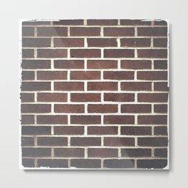 red brick Metal Print