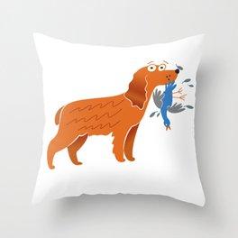 Cocker Spaniel Gift Idea Throw Pillow