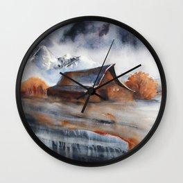 Moulton Barn Wall Clock