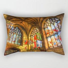 Evening Sun Cathedral Rectangular Pillow