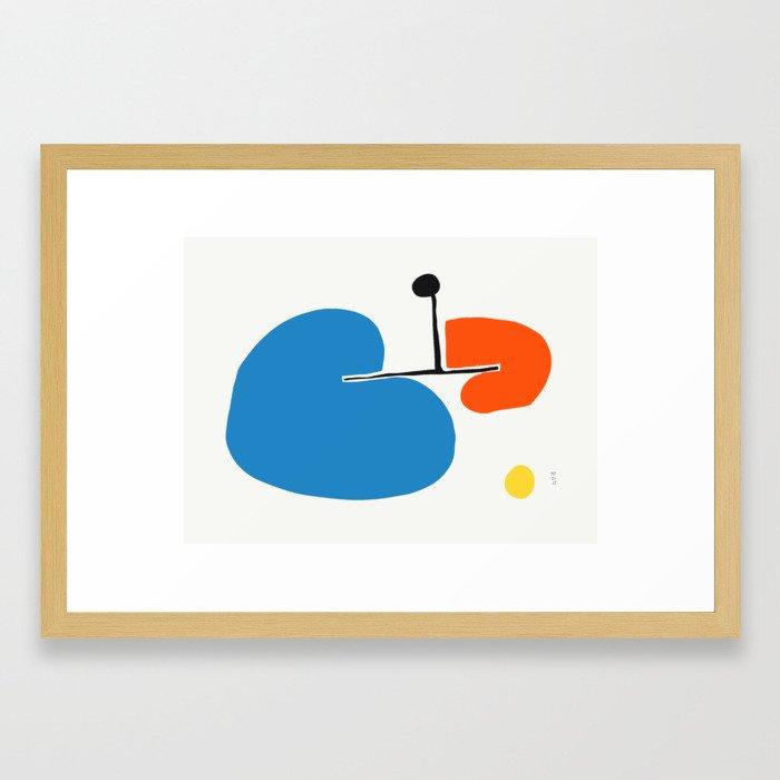 Gui Framed Art Print
