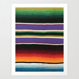 MEXICAN SERAPE Art Print
