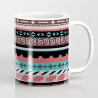 navajo Mugs featuring Navajo West by Charlene McCoy